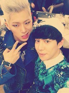 Zico + Kyung = Zikyung  Yes.I.ship.them. <3