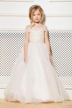 eefcd5e1b9 12 Best Ivory flower girl dress tulle Toddler flower girl dress lace ...