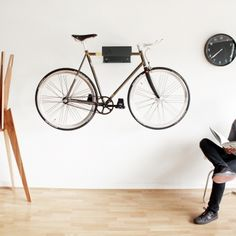 Make your bike a feature at home with the Cyclehoop Bikeshelf, £79.80