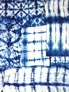 How-To: Shibori Dyeing We are so thrilled to share with you guys the awesome process of creating Shibori designs! Diy Projects Handmade, Crafty Projects, May Designs, Shibori, Valance Curtains, Basement, How To Make, Blog, Crafts