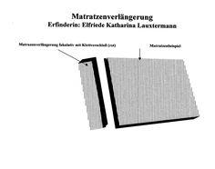 Die Matratzenverlängerung ist eine Verlängerung die am Kopfteil anzusetzen ist.