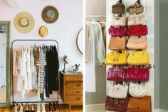 7 idee furbe per organizzare il guardaroba quando non ne hai più uno