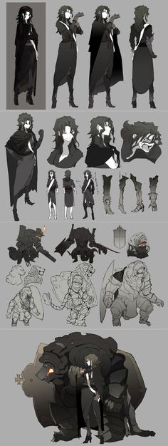 Commander and her iron golem Character Creation, Character Concept, Character Art, Concept Art, Bd Design, Game Design, Fantasy Characters, Dnd Characters, Poses References