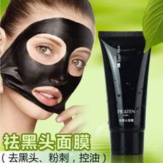 Black mask pilaten face mask Tearing style Deep Cleansing blackheads Acne eliminating antistrawberry nose black mud masks 60g >>> Find out more about the great product at the image link.