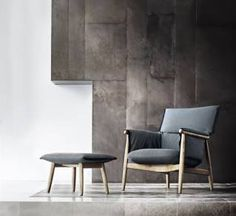 Carl Hansen - Embrace Lounge Chair E015 - design EOOS