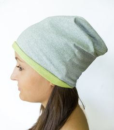 Chemo beanies gray bad hair day lightweight slouchy by Jousilook Hipster Beanie, Grey Beanie, Slouchy Beanie, Beanie Hats, Chemo Beanies, Cotton Hat, Make Photo, Bad Hair Day