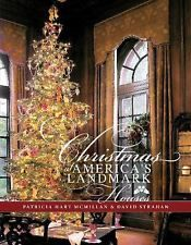 Christmas at America's Landmark Houses, , Strahan, David, McMillan , Patricia, V