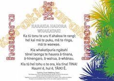 Karakia Hauora – Whakataki — Hagley News - April 2019 Classroom Quotes, Classroom Resources, Maori Words, Moana, Language, Teaching, How To Plan, Mindset, Channel