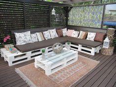 Pallet sofa / Kuormalava sohva
