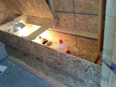 brooder inside main coop great idea!!!