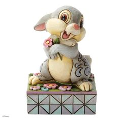 4032866 Spring Has Sprung (Thumper)- Spring has sprung...and so has Thumper right into the hearts of Disney collectors everywhere #disney #collectable #jimshore