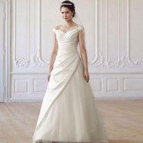 Robe de mariée bretelles larges Emma