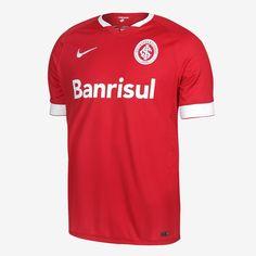Camisa Masculina Internacional 2014 Home Jogador - Nike no Nike.com.br  Soccer Jerseys c59d0bf54c506