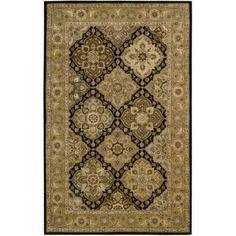 Nourison 2000 Hand-tufted Panel Wool Rug