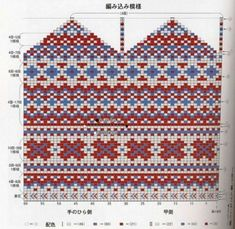 Knitted Mittens Pattern, Knit Mittens, Knitting Socks, Hand Knitting, Mitten Gloves, Knitting Charts, Knitting Patterns, Fair Isle Pattern, Wrist Warmers