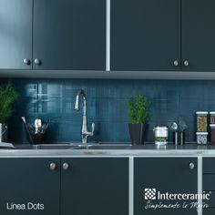 ¿Te imaginabas una #cocina azul? Luce muy bien