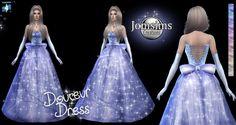 Douceur princess dress at Jomsims Creations • Sims 4 Updates