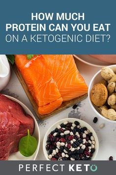 How much protein can you eat on the ketogenic diet is a question asked by many when they realize protein intake is just as important as cutting the carbs.