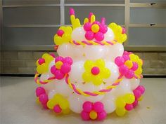 pastel de globos by ambientebuenosaires, via Flickr