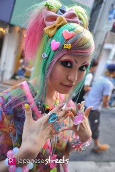Harajuku Fairy Kei Decora Kawaii fairy kei girl,  accessories  #kfashion  cute
