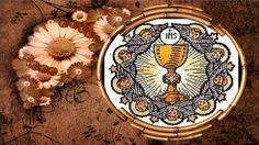 Bendito y alabado sea el Santísimo Sacramento del Altar,Oraciones eucarí... Decorative Plates, Saints, Catholic Prayers, Blessed