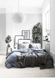 Own your morning // bedroom // interior // home decor // city life // city suite // urban life // city living // wall art //
