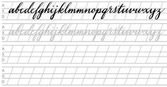 7 Best Images of Modern Calligraphy Practice Sheets Printable - Free Printable Calligraphy Alphabet Practice Sheets, Printable Calligraphy Practice Sheets and Free Printable Calligraphy Alphabet Practice Sheets Calligraphy Worksheets Free, Calligraphy Practice Sheets Free, Alphabet Practice Sheets, Hand Lettering Practice, Brush Lettering, Printing Practice, Handwriting Practice, Calligraphy Paper, Learn Calligraphy