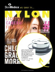 Looking for a heavier cream to help perfect your #skin at night? @NYLON Magazine recommends our Dermal Repair Cream.