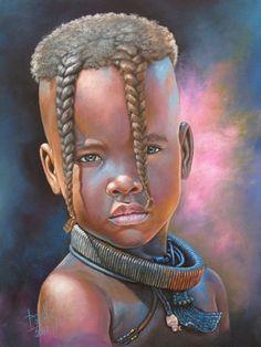 Black Art African American by Dora Alis Mera V. Color Race, African Paintings, Black Art Pictures, Black Love Art, African Children, Africa Art, Black Artwork, African American Art, Beauty Art