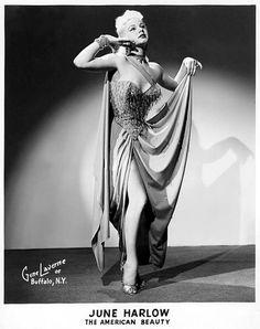 June Harlow  #burlesque