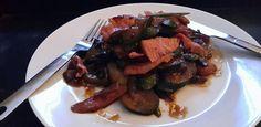 Coal roasted eisbein with stir fry veg!