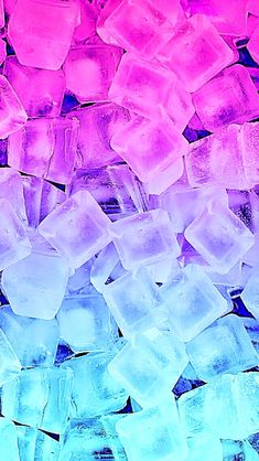 Pink and blue ice cubes VSCO wallpaper - Cute Galaxy Wallpaper, Neon Wallpaper, Rainbow Wallpaper, Summer Wallpaper, Cute Patterns Wallpaper, Glitter Wallpaper, Iphone Background Wallpaper, Aesthetic Pastel Wallpaper, Cellphone Wallpaper