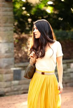 Love the skirt, Love the hair