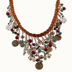 Check out the deal on Pocahontas - Suede Leather Necklace at bCharming
