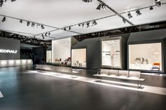 Pedrali Light Frames Stand by Migliore+Servetto Architects at Salone del Mobile 2015, Milan – Italy » Retail Design Blog