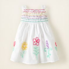 baby girl - embroidered ribbon dress   Children's Clothing   Kids Clothes   The Children's Place