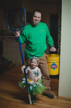 Halloween from the pond family theme // Pond maintenance man costume // Momista Beginnings