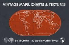 Vintage Maps, Charts & Textures Graphics **An extensive collection that includes vintage, antique maps, charts and textures.**Following the by Offset