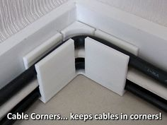 Cable Corners... keep cables in corners! by muzz64.