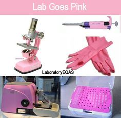Medical Laboratory and Biomedical Science: Lab goes pink