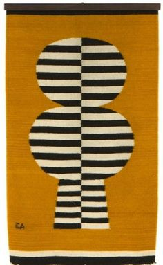 evelyn ackerman mid-century wall hangings