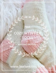 Cozy Slipper Socks Knitting Pattern