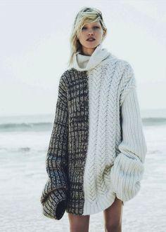 leahcultice: Hana Jirickova by Nick Dorey for Vogue Germany November 2014