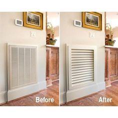Revamped air grille | LFF Designs | www.facebook.com/LFFdesigns