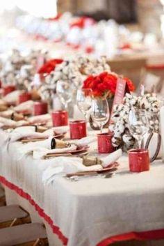 Bon Plus De 40 Idées De Décoration Pour Un Mariage à Noël