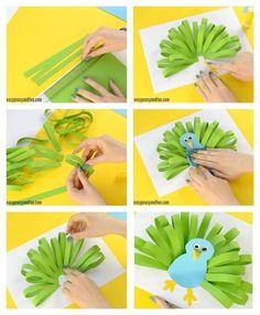 Craft Activities For Kids, Preschool Crafts, Diy Crafts For Kids, Projects For Kids, Art For Kids, Arts And Crafts, Peacock Crafts, Butterfly Crafts, Frog Crafts