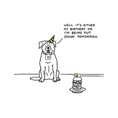 'When anxiety forced me to drop out of my Philosophy Ph.D., I started trying to turn Drawings of Dogs, my little webcomic into more of a business,' says Henry Garret, an artist who found a way to turn his passion for illustrations into a treatment for anxiety. And the best thing about it is that the side-effects of this treatment are these hilarious Drawings of Dogs, which shows as a glimpse into an alternative reality where we can hear dogs speak.