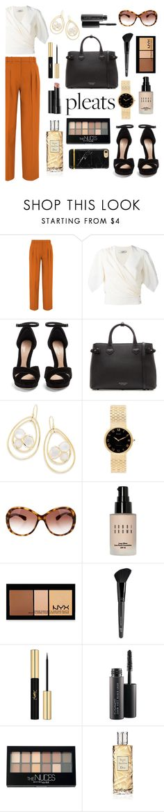 """""""The big fish"""" by ravenclaw-phoenix on Polyvore featuring Victoria, Victoria Beckham, Lanvin, Alexander McQueen, Burberry, Ippolita, Piaget, Tom Ford, Bobbi Brown Cosmetics, NYX and Old Navy"""