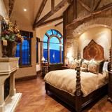 Originally from  Dreamy Houses for Sale in Park City, Utah .  No expense was spared in the construction of this six-bedroom,  nine-bathroom estate. The home's 7.995 million price tag includes all  of its fine furniture and artwork, plus a golf simulator, a    Kaleidoscope movie system and a grotto with waterfalls that spill into a 12-person hot tub.