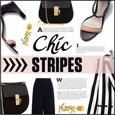 the Chic Stripes Outfit Idea 2017